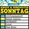 Line Up Sonntag